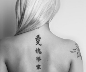 girl and Tattoos image
