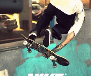 nike, skate, and boy image