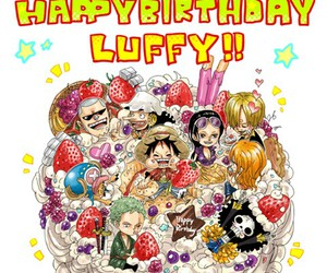 luffy, b-day, and 05 05 image