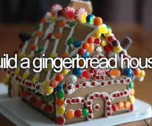 before i die, christmas, and gingerbread image
