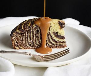 cake, chocolate, and rum image