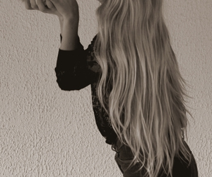 blondie, girl, and hair image