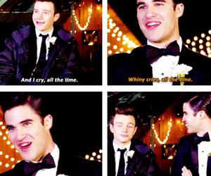 quotes, darren criss, and chris colfer image