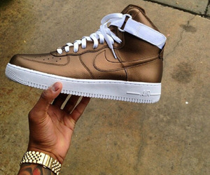 air force, brown, and gold image