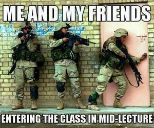 best friends, class, and funny image