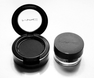mac, black, and beauty image