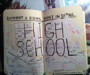 high school and wreck this journal image