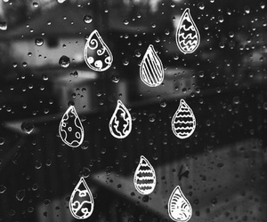 rain and drop image