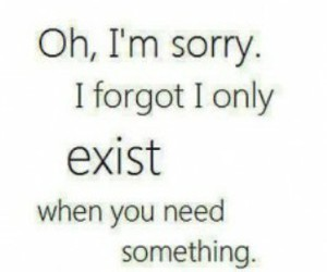 quotes, sorry, and exist image