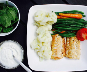 fish, fit, and food image