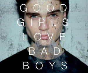 love, boy, and bad boys image