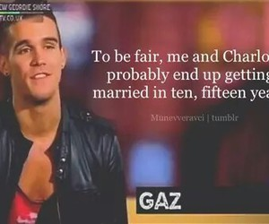 gaz, geordie shore, and love image
