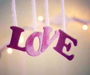 love and pink image