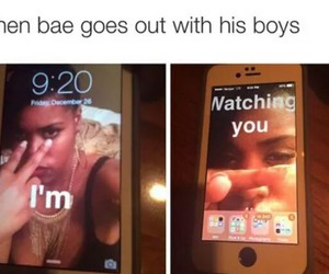 bae, funny, and love image
