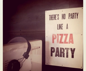 pizza and party image