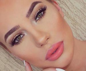 makeup, beautiful, and albanian image