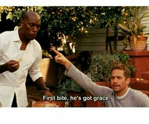 paul walker, tyrese, and fastandfurious image