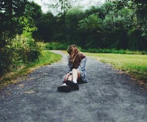girl, alone, and fashion image