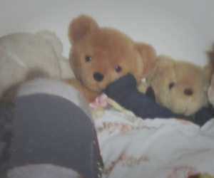 bear, bed, and alternative image