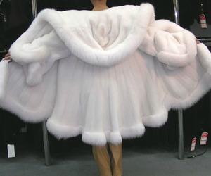 fashion, white, and coat image