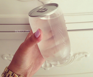 water, drink, and nails image