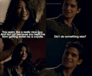 kira, scott, and teen wolf image