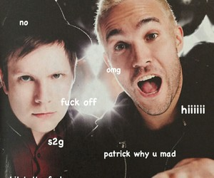fall out boy, FOB, and peterick image