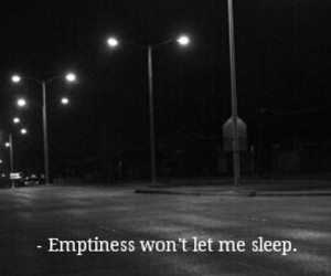 Darkness, emptiness, and sadness image