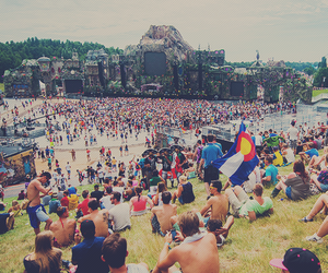 Tomorrowland, music, and festival image