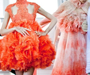 fashion, model, and Alexander McQueen image