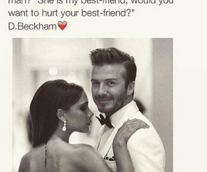 love, beckham, and couple image