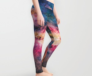 galaxy, girlie, and space image