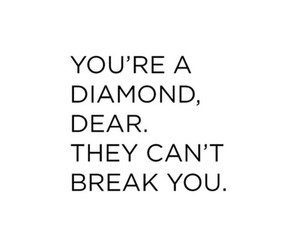quotes, diamond, and girls image