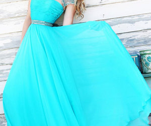cheap beaded prom dress and 2015 long evening dress image