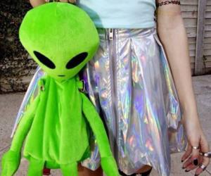alien, grunge, and tumblr image