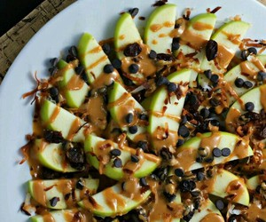 apples, fitness, and nachos image