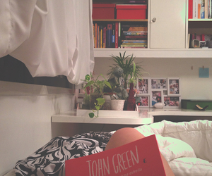 bedroom, colors, and girly image