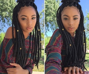 braids, dreads, and pretty image