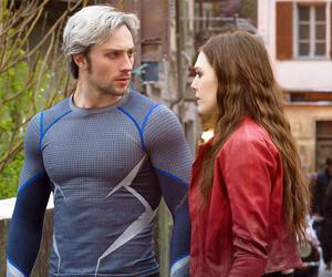 quicksilver, Avengers, and wanda maximoff image