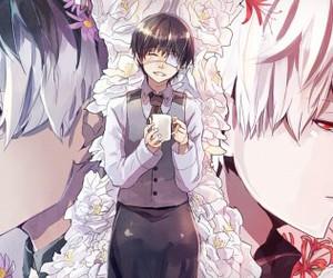 ghoul, tokyo kushu, and kaneki ken image