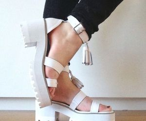 design, sandals, and fashion image