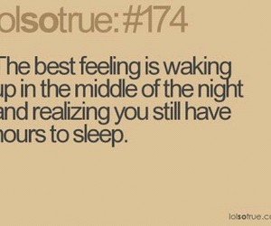 sleep, funny, and quote image