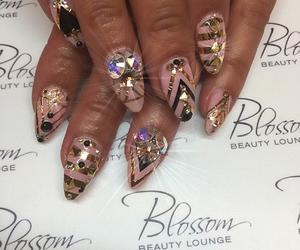 nails, pretty nails, and nail decor image