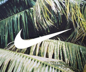 nike, summer, and green image