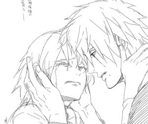 sakura haruno, kakasaku, and kakashi hatake image