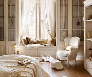 bedroom, interior, and french image