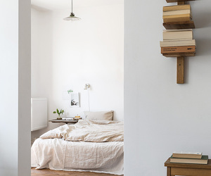 white, bedroom, and decor image
