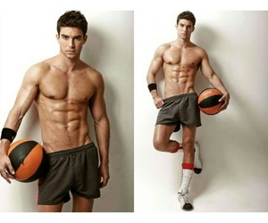 fitness, guy, and Hot image
