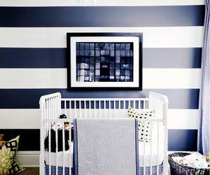 black + white and kid room image
