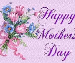 girl and happy mothers day image